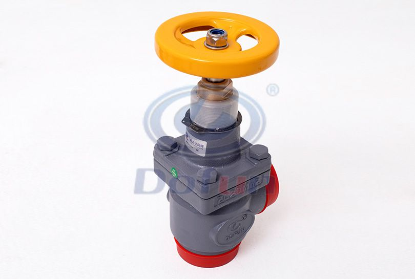 SCV-A Welding Right-Angle Stop Check Valve
